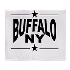 Buffalo NY Throw Blanket