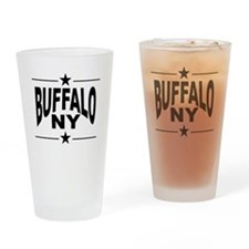 Buffalo NY Drinking Glass