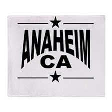 Anaheim CA Throw Blanket
