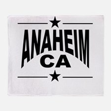 Anaheim CA Throw Blanket