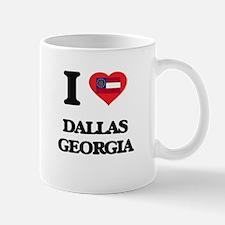 I love Dallas Georgia Mugs
