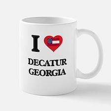 I love Decatur Georgia Mugs