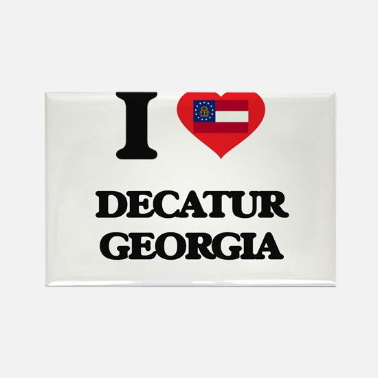 I love Decatur Georgia Magnets