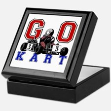 Kids Go Kart Racing Keepsake Box
