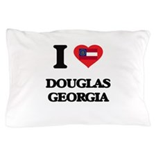I love Douglas Georgia Pillow Case