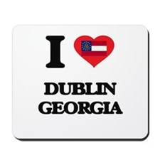 I love Dublin Georgia Mousepad