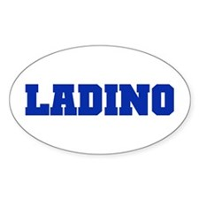 LADINO Oval Decal