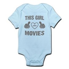 THIS GIRL LOVES MOVIES Body Suit