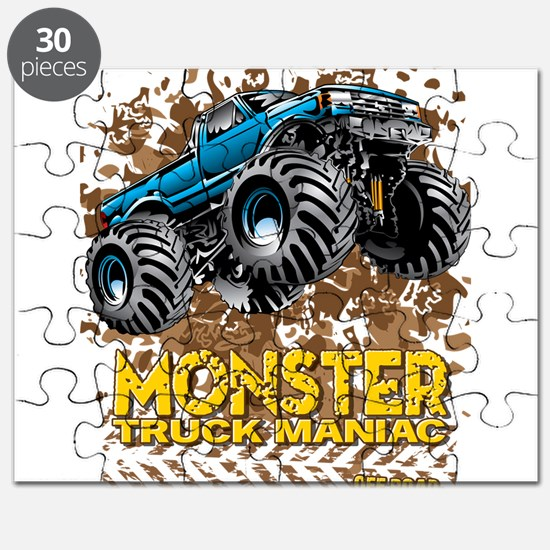 Monster Truck Maniac Puzzle
