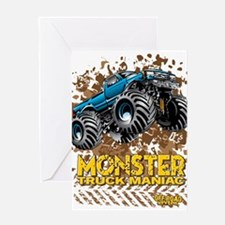 Monster Truck Maniac Greeting Cards