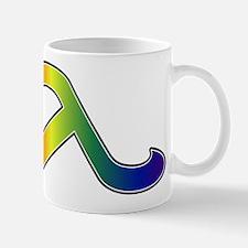 Rainbow Lambda Mug