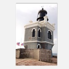 El Morro Lighthouse Postcards (package Of 8)