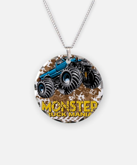 Monster Truck Maniac Necklace