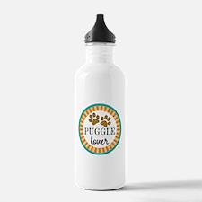 Puggle Dog Lover Water Bottle
