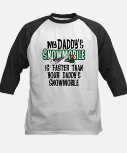 Daddy's Snowmobile Tee