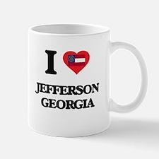 I love Jefferson Georgia Mugs