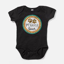 Puggle dog lover Baby Bodysuit