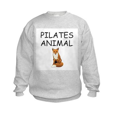 Pilates Animal Kids Sweatshirt