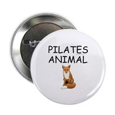 "Pilates Animal 2.25"" Button"