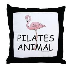 Pilates Animal Throw Pillow