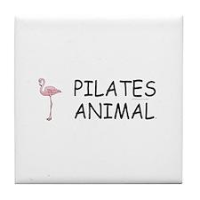 Pilates Animal Tile Coaster