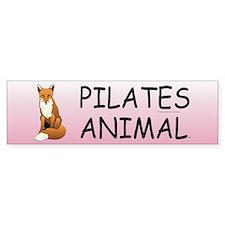Pilates Animal Bumper Sticker