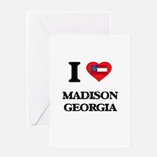 I love Madison Georgia Greeting Cards