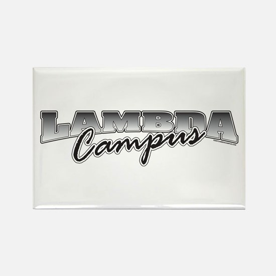 Lambda Logo Rectangle Magnet (10 pack)