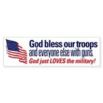 God Loves the Military!