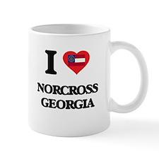 I love Norcross Georgia Mugs