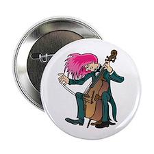 Mad Cellist Cello Button