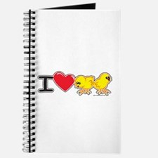 I Love Chicks Journal