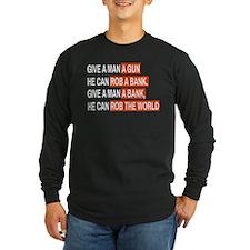 Banks Rob The World Long Sleeve T-Shirt