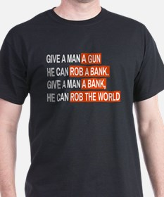 Banks Rob The World T-Shirt