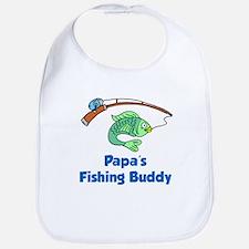 Papas Fishing Buddy Bib