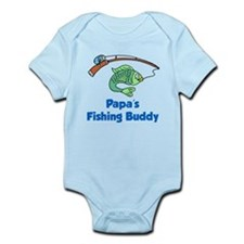 Papas Fishing Buddy Body Suit