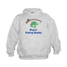 Papas Fishing Buddy Hoodie