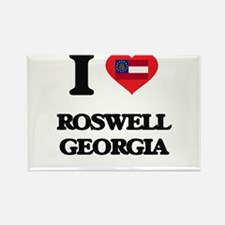 I love Roswell Georgia Magnets