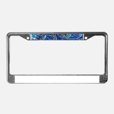 Wild Paisley License Plate Frame