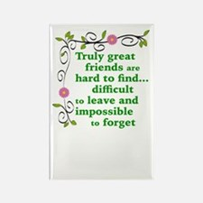 GREAT FRIENDS Rectangle Magnet