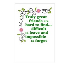 GREAT FRIENDS Postcards (Package of 8)