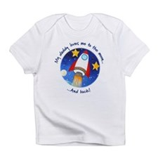 Daddy Loves Me to the Moon Infant T-Shirt