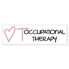 Occupational Therapy - Bumper Car Sticker