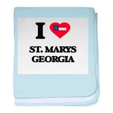 I love St. Marys Georgia baby blanket
