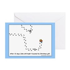 Christmas Geocacher Greeting Cards (Pk of 20)