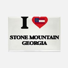I love Stone Mountain Georgia Magnets