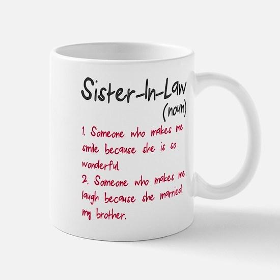 Sister-in-law Mug
