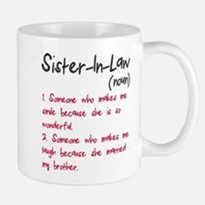 Sister-in-law Small Mugs