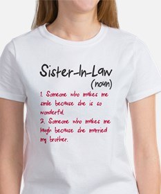 Sister-in-law Women's T-Shirt