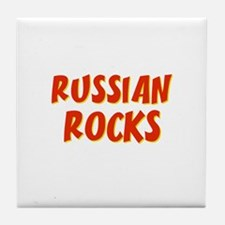 Russian~Rocks Tile Coaster